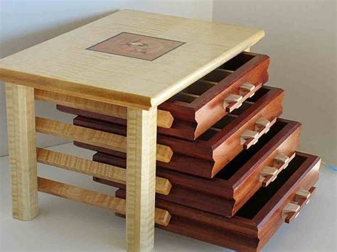 building jewelry box drawers woodworking projects plans