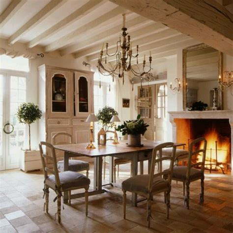 Dining Room And Fireplace Dining Room Fireplace Rustic Country Home Renovation