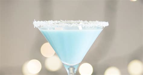 martini snowball coconut snowball martini cocktail drink recipes the