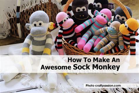awesome sock monkey