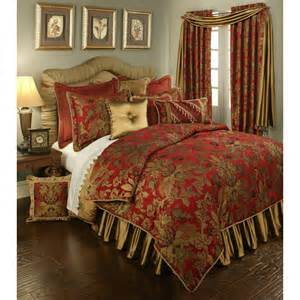 red and gold king bedding bellacor