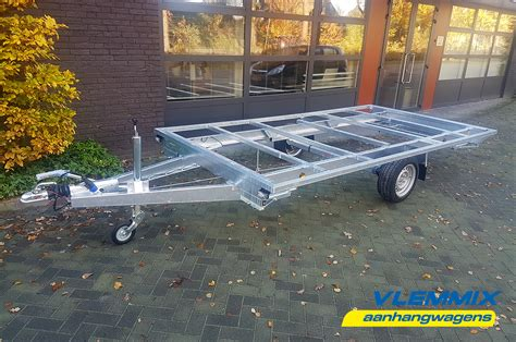 boottrailer chassis tiny house vlemmix aanhangwagens boottrailers