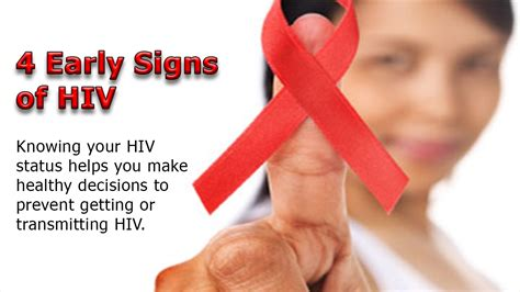 early hiv aids symptoms ehow early signs of hiv 4 early sign and symptoms of hiv that