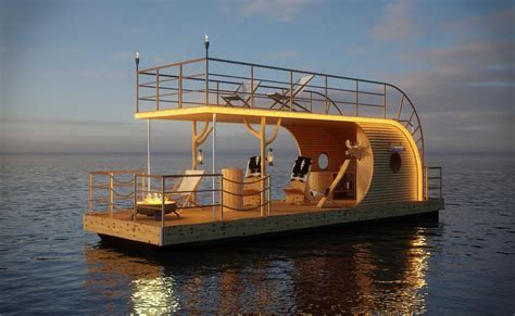 modern house boat nautilus modern houseboats