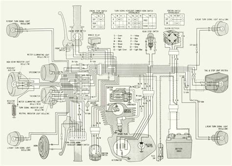 1976 honda xl 125 wiring diagrams wiring diagram