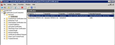 Domain controller certificate template permissions resume pdf domain controller certificate template permissions yadclub Gallery