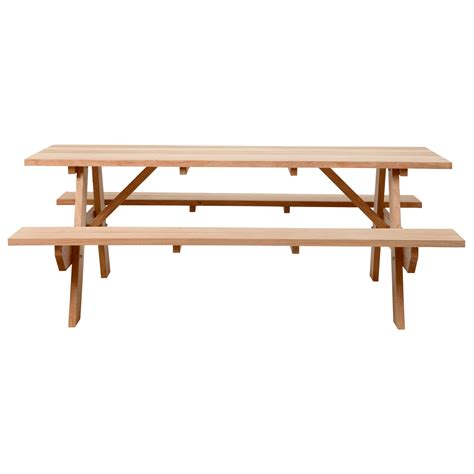 picnic bench dining table picnic table robert plumb store
