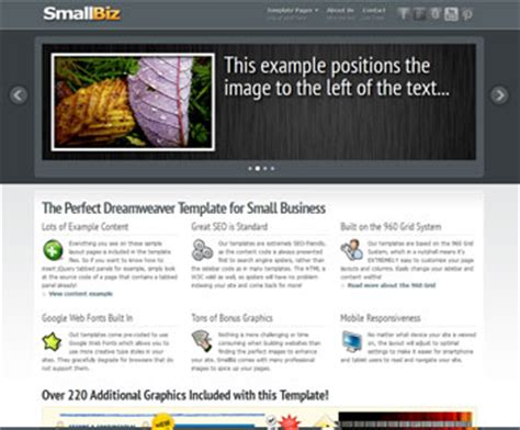 Free Dreamweaver Templates And Website Templates Dreamweaver Responsive Web Design Templates