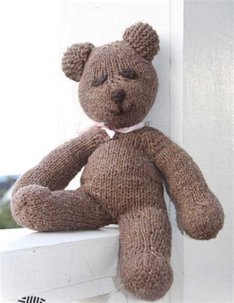 teddy knitting patterns free mister bean the teddy free knitting pattern knitting bee
