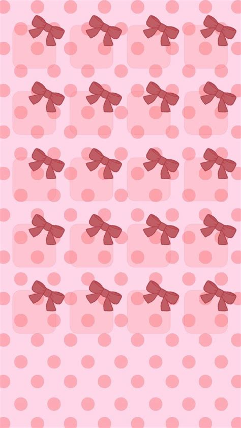 wallpaper pink bow pink bows for iphone 5 wallpaper backgrounds pinterest