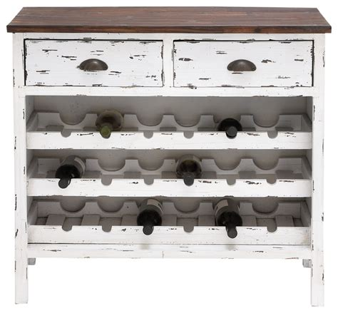 Distressed Wood Bar Cabinet Distressed Bright White Wine Cabinet Style Wine And Bar Cabinets By Navigation Bay