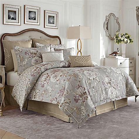 bed and bath comforter sets croscill 174 victoria reversible comforter set bed bath