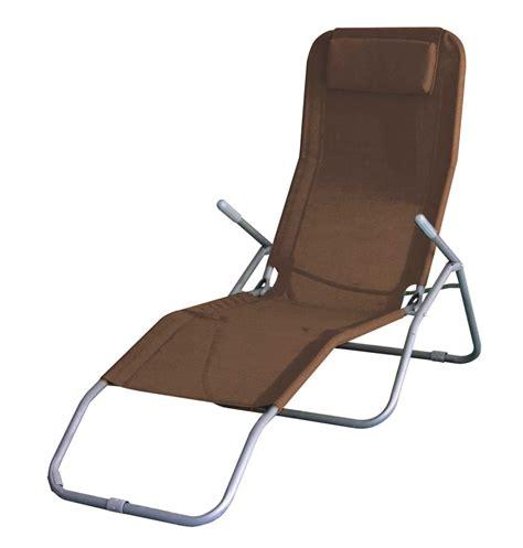 sun chairs folding sun lounger recliner chair bed armrest garden