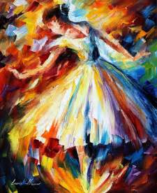 the best paint ballet through leonid afremov s strokes 4ever21christina