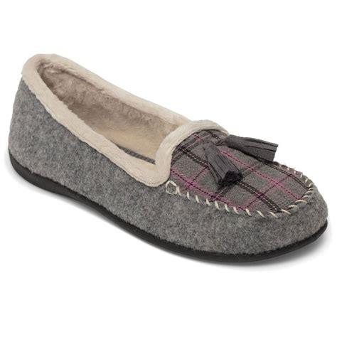 womens tassel loafer padders tassel womens loafer style slippers from