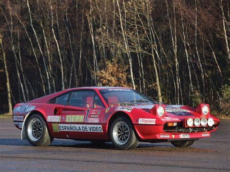 Ferrari 308 Gtb Group B Rally Car Coming To Auction Gtspirit