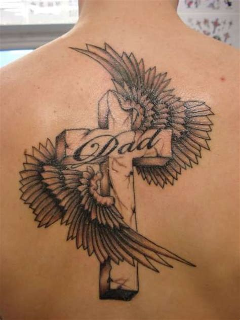 Tattoo Cross And Wings | cross tattoos with wings find a tattoo blog
