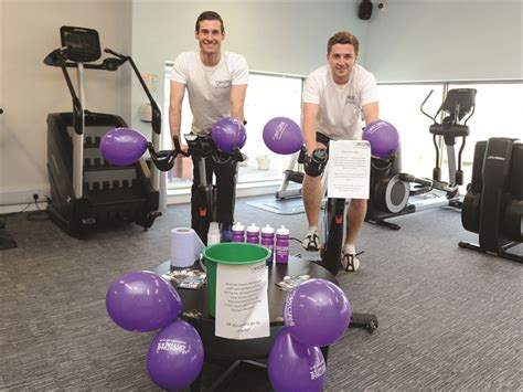 mayor takes part  rotherham gyms  hour charity bike ride