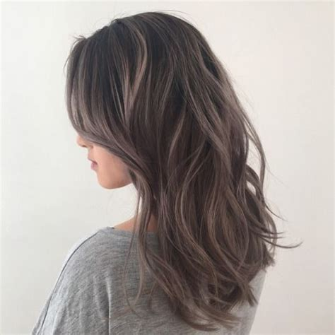 salt and pepper hair with brown lowlights 1000 ideas about ashy brown hair on pinterest brown