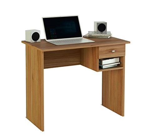 Walnut Corner Computer Desk Corner Computer Desk Table Home Workstation Furniture With One Drawer Walnut