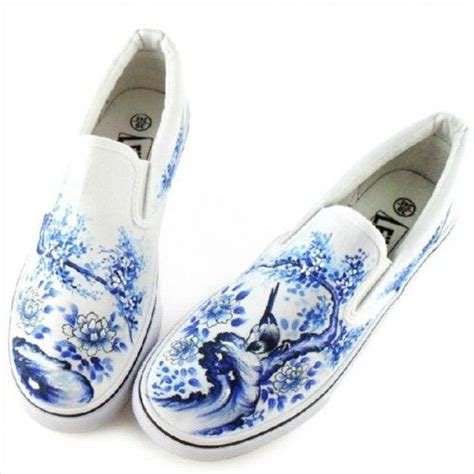 diy custom shoes birds blooms painted shoes diy custom made canvas