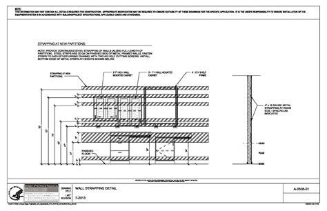 Floor Plan Title Block by Nih Standard Cad Details