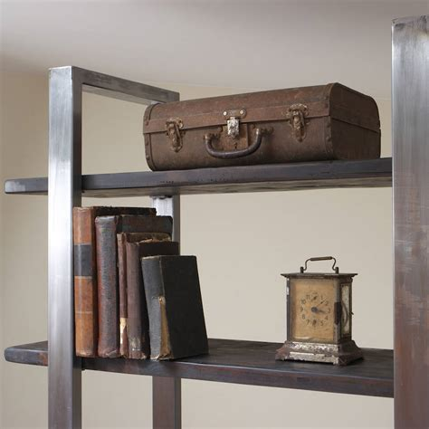 industrial style shelving industrial style freestanding shelving unit by cosywood
