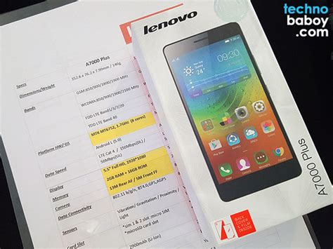 Hp Lenovo A7000 Plus Di Lazada lenovo announces a7000 plus exclusively available on lazada