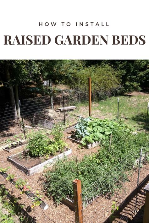 How To Fit Sleepers In Garden by How To Install Raised Garden Beds Shtf Prepping