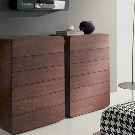 Modern Chest Drawers by Modern Tallboy Chest Of Drawers In Oak Walnut Or Elm