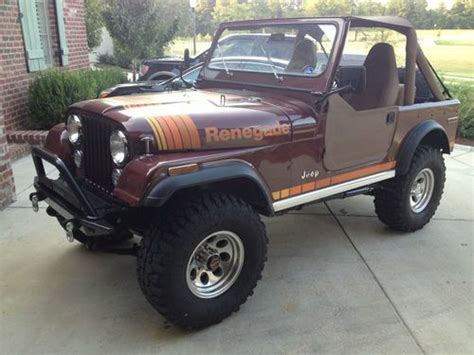 1979 Jeep Renegade For Sale Buy Used Jeep Cj7 Renegade 1979 Original And Paint