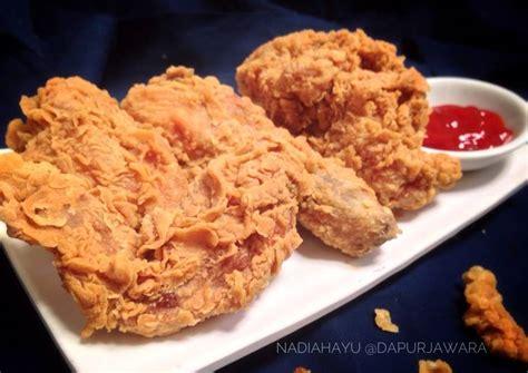 resep jawara fried chicken ayam goreng tepung krispi ala