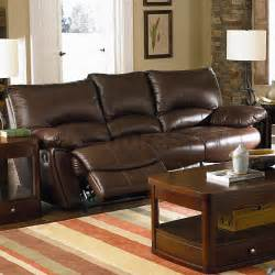clifford brown leather reclining sofa sofas coa