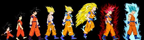dragonball evolution goku wallpaper goku s evolution complete by dfjonesart on deviantart