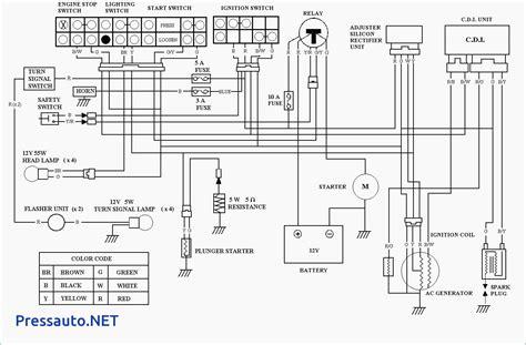 motor wiring 125cc atv wiring diagram