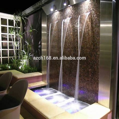 modern indoor water fountaininterior waterfall for home