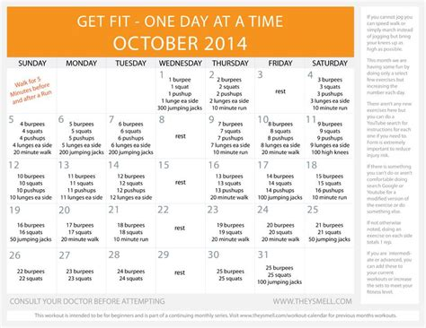 Printable Workout Plans For Beginners