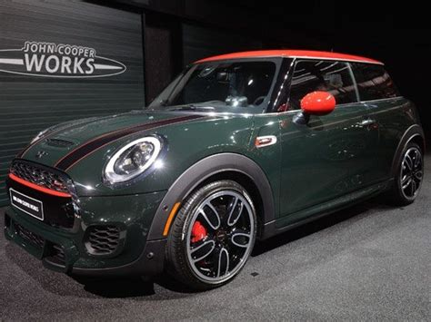Who Makes The Mini Cooper Naias Detroit 2015 Mini Cooper Works Revealed