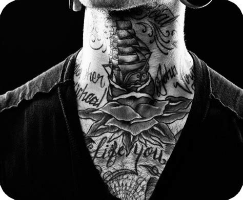 white boy tattoos tattoos alargador black and white boy image 614656