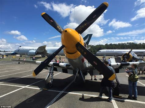 world war ii mustang fighter plane boeing s centennial at the museum of flight in seattle see