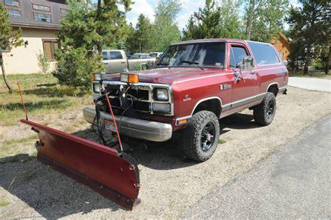 ram truck finder truck find 1987 dodge ram charger with cummins