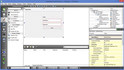 tutorial qt qt tutorials for beginners creating simple login form in qt