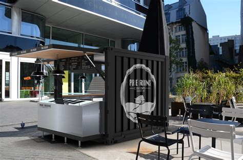 10Feet Unit Container Coffee Bar   Pop Up container coffee bar   Container restaurant   Shipping