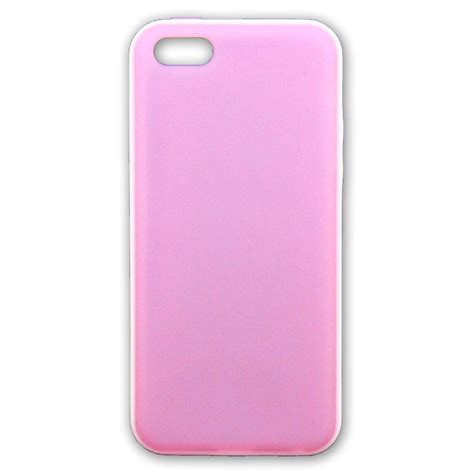 Bumper Single Color With Back Cover For Iphone 55s Black new pastel colors white bumper soft back phone cover for apple iphone 5s 5c ebay