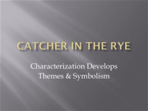 catcher in the rye themes growing up holden caulfield s psychological analysis