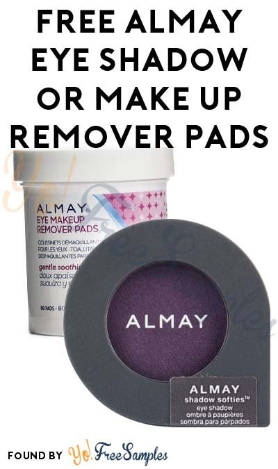 Promo The One All Make Up Remover possible free almay shadow softies or make up remover pads with 4 coupon yo free sles