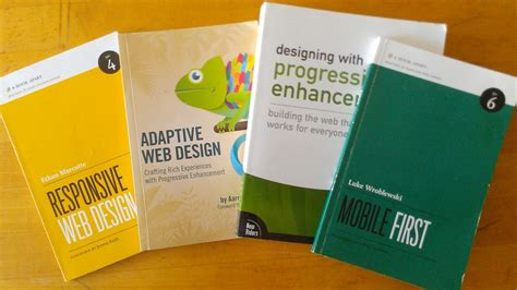 the book for design books the transition to responsive web design