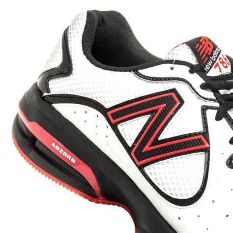 new balance 786 mens tennis shoes white black