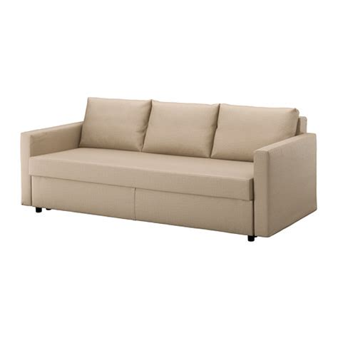 How To Open Ikea Sofa Bed Friheten Three Seat Sofa Bed Skiftebo Beige Ikea