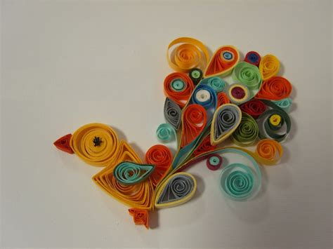Paper Quilling Craft Ideas - paper quilling birds design ideas origami